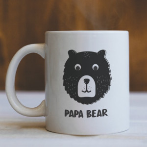 Cana Cu Mesaj - Papa Bear