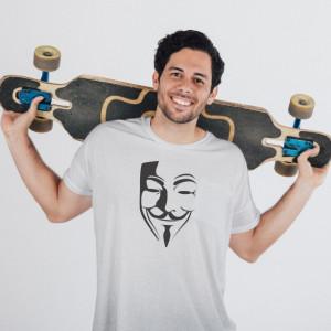 Imprimeu tricou ANONYMUS