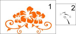 Sticker De Perete Crini 01
