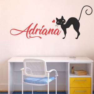 Sticker De Perete Cu Nume - Adriana