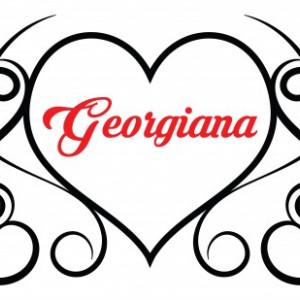 Sticker De Perete Cu Nume - Georgiana