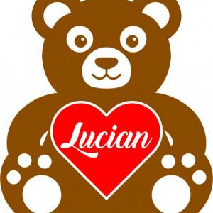 Sticker De Perete Cu Nume - Lucian