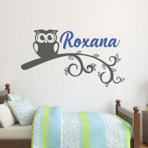 Sticker De Perete Cu Nume - Roxana