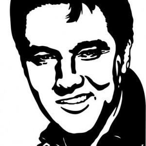 Sticker De Perete Elvis