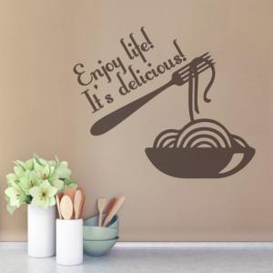Sticker De Perete Enjoy Life