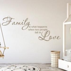 Sticker De Perete Family Love