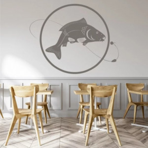 Sticker de Perete Fishing Fish