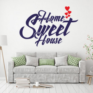 Sticker de Perete Home sweet house
