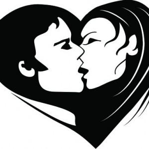 Sticker De Perete Kiss