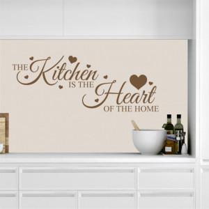 Sticker de Perete Love Heart Kitchen