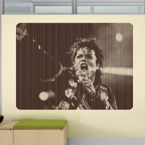 Sticker De Perete Michael In Concert