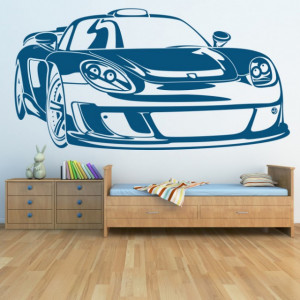 Sticker De Perete Porsche Carrera Car