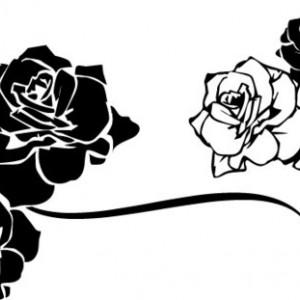 Sticker De Perete Trandafiri De Perete