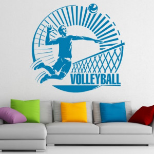 Sticker de Perete VoleyBall