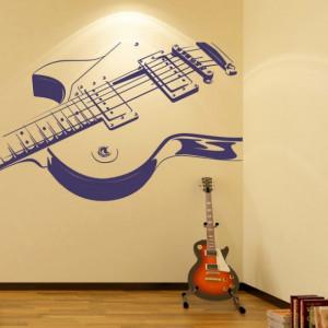 Sticker Electric Guitar
