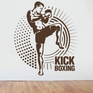 Sticker Kick Boxing