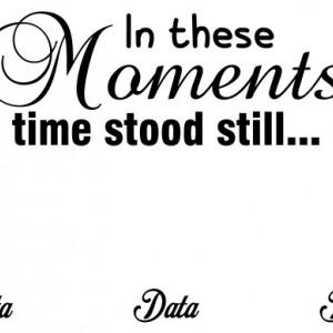 Sticker Si Canvas - Time Stood Still