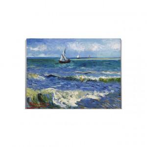 Tablou Canvas Barca cu panze pictura