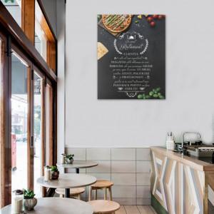 Tablou canvas - In Acest Restaurant - Pizza