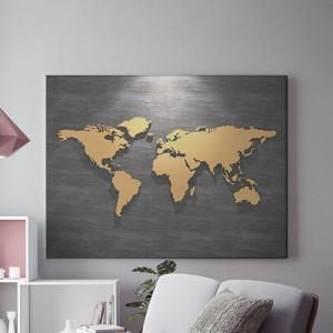 Tablou Canvas Mapamond In The Spotlight