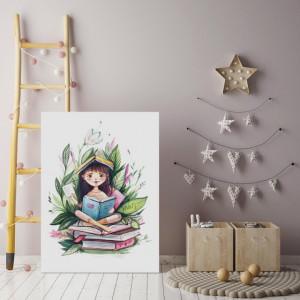 Tablou Copii - Lectura In Natura