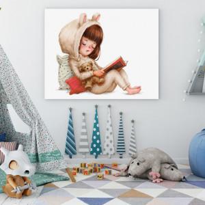 Tablou copii - Povesti pentru ursulet