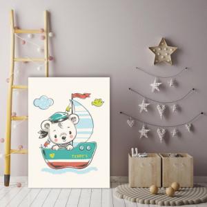Tablou copii - Sailor Teddy