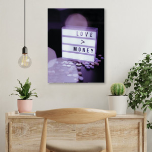 Tablou office - Love money