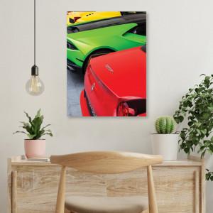 Tablou office - Red Ferrari