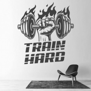 Train Hard Bodybuilder