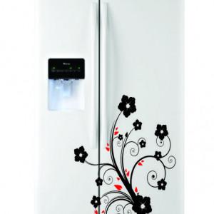 Sticker frigider - floare 03