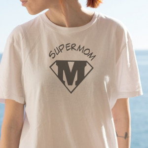 Imprimeu tricou SUPER MOM