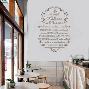 In aceasta cafenea