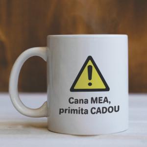 Cana cu Mesaj Cadoul Meu!