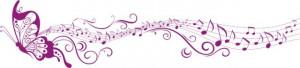 Fluturele muzical prelungit
