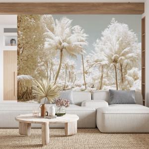 Foto tapet White trees