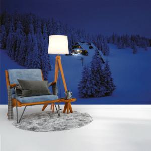 Foto tapet Winter night