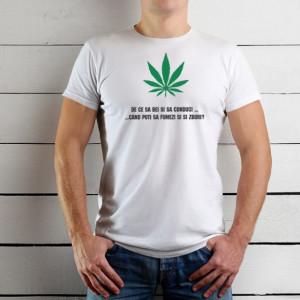 Imprimeu tricou FUMEZI SI ZBORI