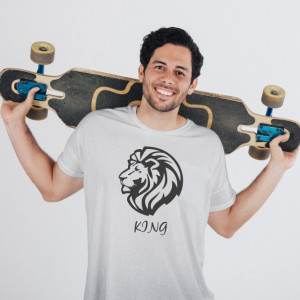 Imprimeu tricou LION KING