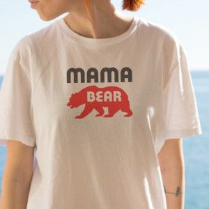 Imprimeu tricou MAMA BEAR