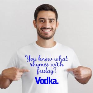 Imprimeu Tricou Vodka