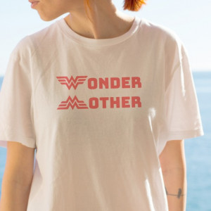 Imprimeu tricou WONDER MOTHER