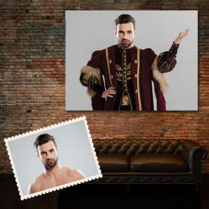 Portret personalizat cu poza ta - Prinț