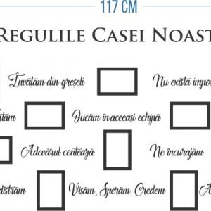 Regulile casei noastre