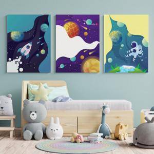 Set Tablouri Copii - Space