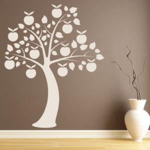 Sticker Apple Tree Flowers