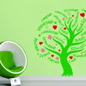 Sticker - Copacul Prieteniei