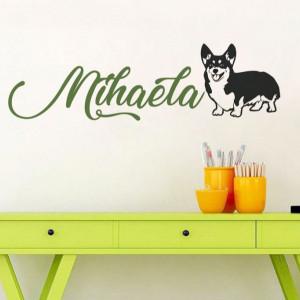 Sticker cu nume - Mihaela