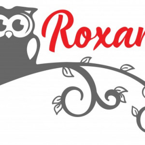 Sticker cu nume - Roxana