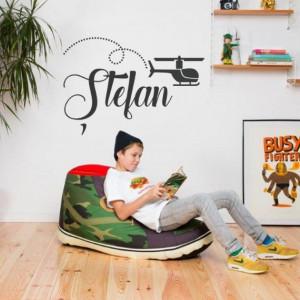 Sticker cu nume - Stefan